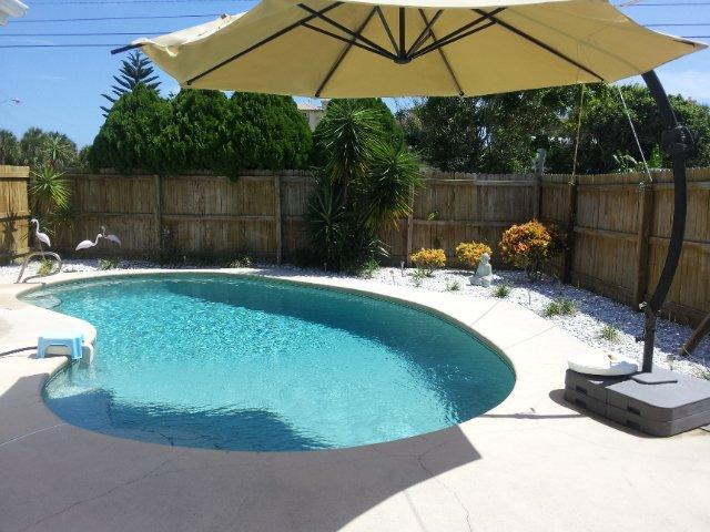 Your Private Swimming Pool - fun for all the family - Luxury Beach House with Private Heated Pool - Cocoa Beach - rentals