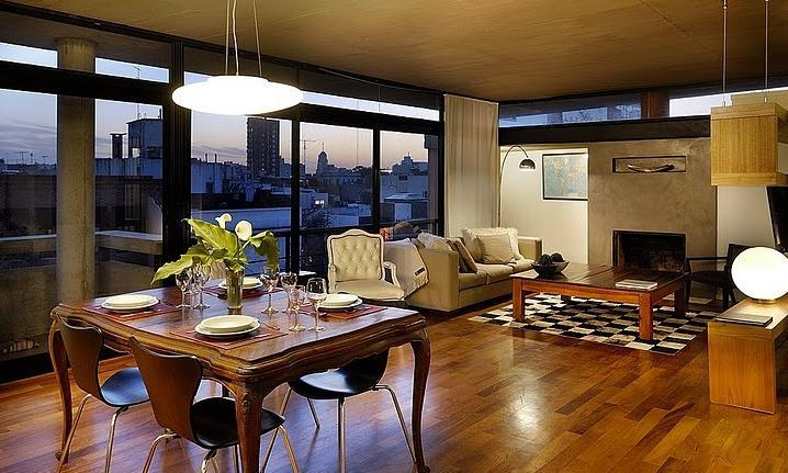 Living Room - Stunning Soho Penthouse with Private Terrace! - Buenos Aires - rentals