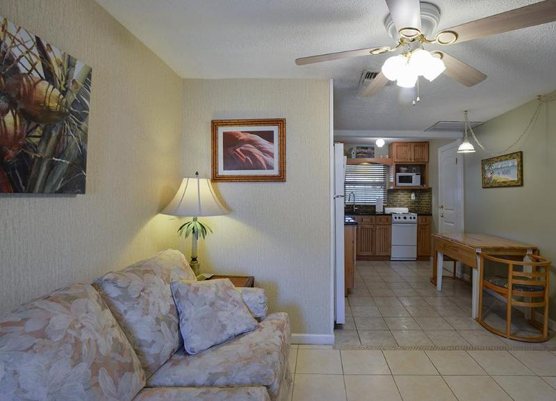 View from entrance - Funky Flamingo Cottage - Gulfport - rentals