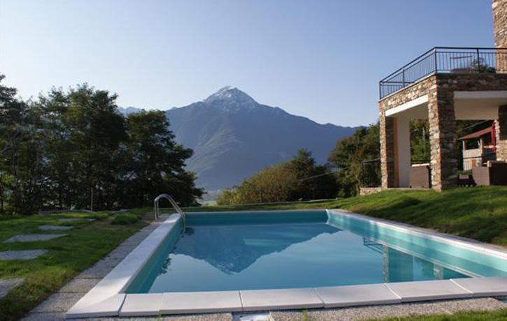Ca'crusca swimming pool - Villa Ca Crusca,2-14 persons , Lago di Como,  Italië - Sorico - rentals