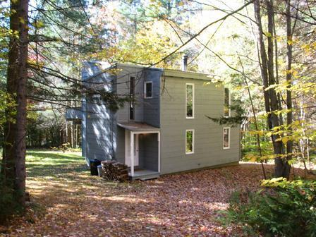 Front of the house - Beautiful&Private Vacation House near Stratton Vermont - Weston - rentals