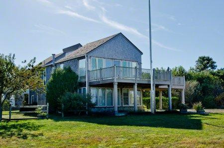 CHAPPY BEACH HOUSE WITH GUEST COTTAGE & WATER VIEWS - CHP SPLA-24 - Image 1 - Chappaquiddick - rentals