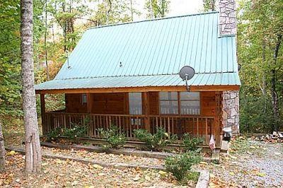 Outside - Sweet Temptation - Pigeon Forge - rentals
