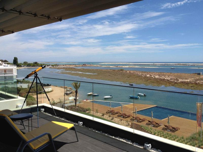 View From The Terrace - Outstanding Seafront Penthouse 180° Views Algarve - Fuzeta - rentals