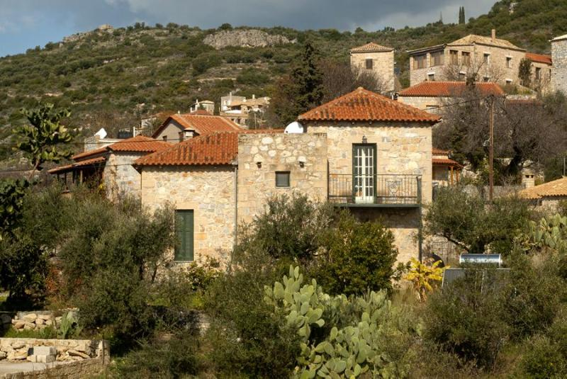 Villa Lefktron - Stone Villa, Sleeps 5, sea views and sand beaches - Stoupa - rentals