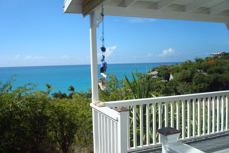 Breeze cottage view from the porch - Galley Bay Cottages - Five Islands Village - rentals