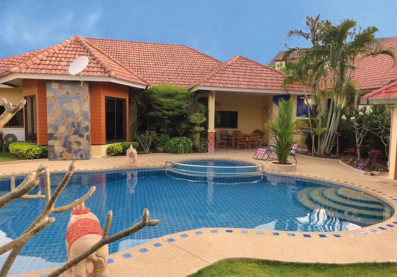 Villa and Pool - Villa Pattaya Hill with private pool in Pattaya ( - Pattaya - rentals