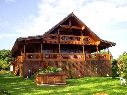 The Chalet in 2002, Brought from Finland in 1998 - Maui Chalet - tropical North Shore private retreat - Haiku - rentals