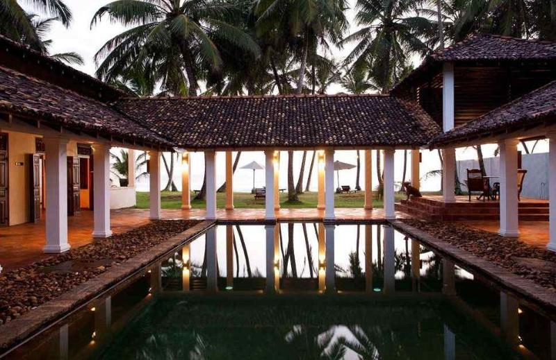 A superbly sited beach villa set close to Galle - Image 1 - Galle - rentals