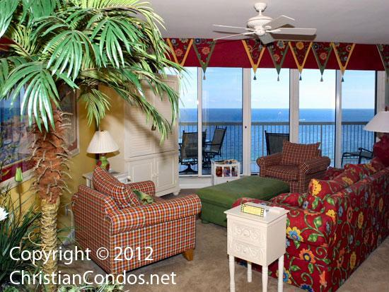 Enjoy beautiful views from the living area - May 23-30 only $2,500.00!  Contact us today. - Destin - rentals