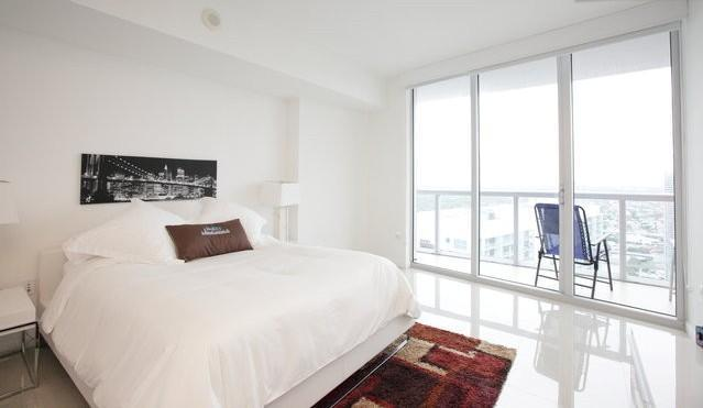 Bedroom - Sky City at Brickell Bay 1-bedroom - Coconut Grove - rentals