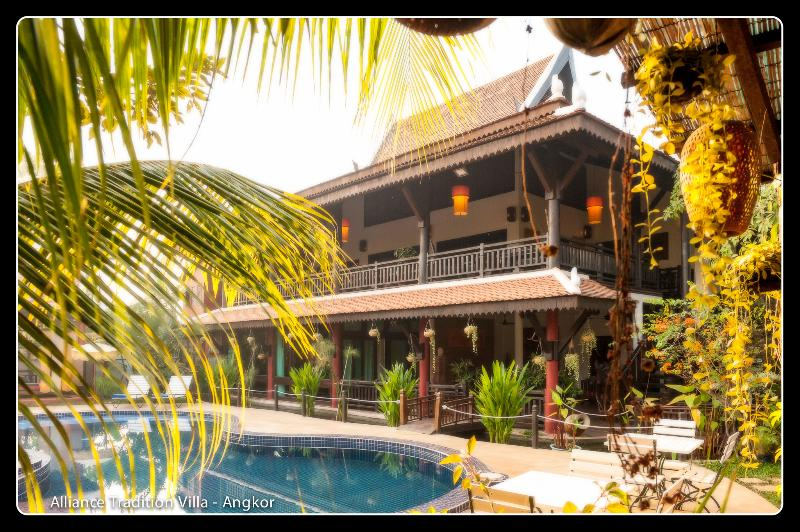 Alliance Tradition Villa - a Khmer house - Image 1 - Siem Reap - rentals