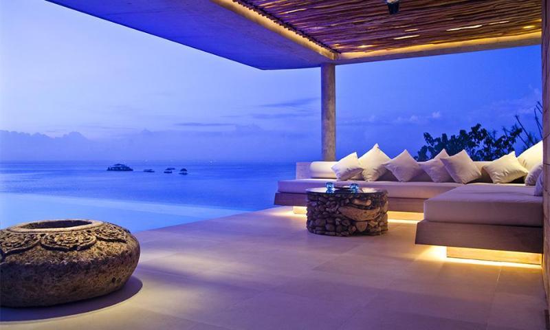 Seating Pavillion - Great for Sunset Cocktails - Villa Biru - Nusa Lembongan - rentals