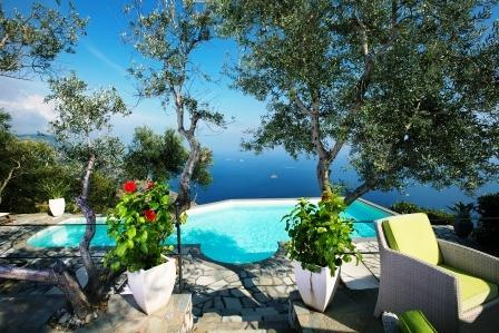 4 Bedroom villa with private pool, sea view, wi-fi - Image 1 - Sant'Agata sui Due Golfi - rentals
