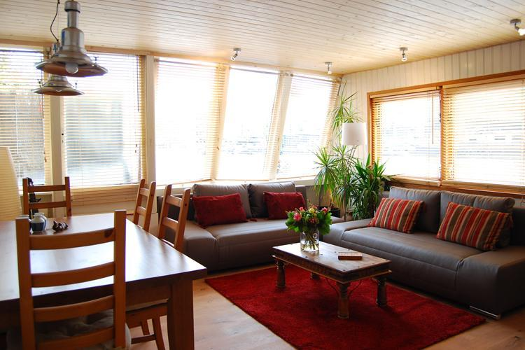 Axo living room - Axo Houseboat - Amsterdam - rentals
