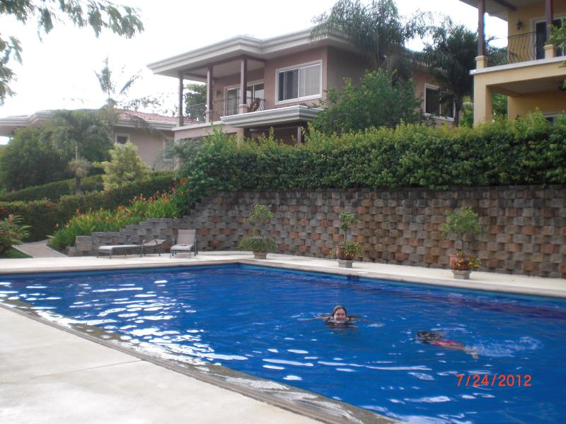 Saltwater pool - Best of all it's only 1 minute walk from the beach - Playa Hermosa - rentals