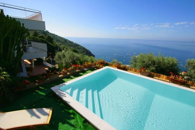 6 Bedrooms villa with private pool, beach and view - Image 1 - Nerano - rentals
