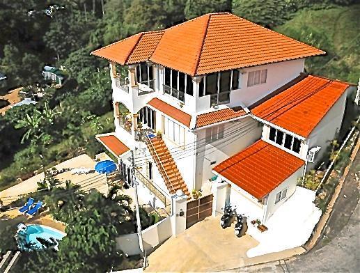 OASIS Villa from the Air - OASIS Villa Phuket-Karon, Five Bedroom Pool-Villa - Karon - rentals