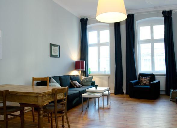 Living room - Wroclaw Apart exquisit 3-Room Apartment Breslau - Wroclaw - rentals
