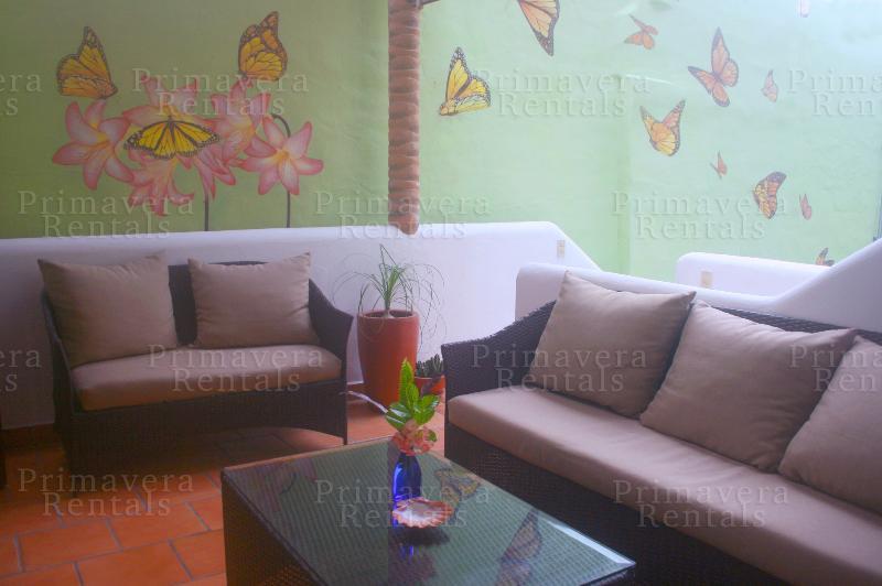 front patio - 2 Bedroom Unit at Casa Mariposa - Sayulita - rentals