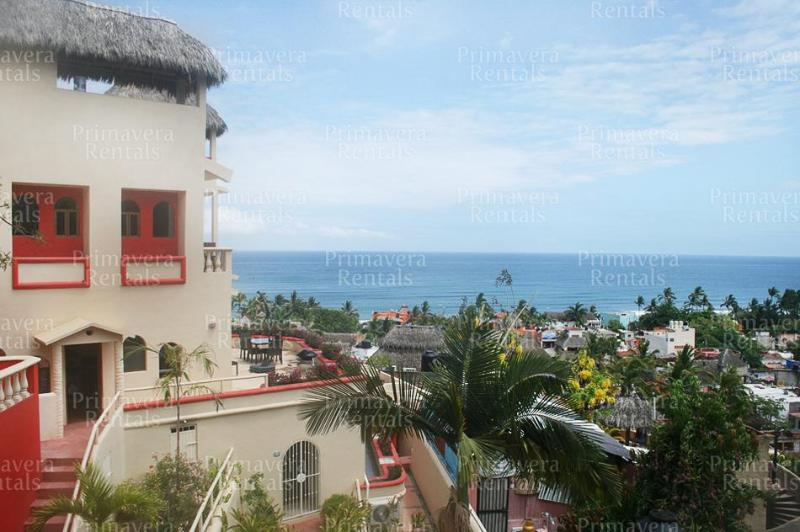salita view of whole complex - Salita 4 villa complex in Sayulita - Sayulita - rentals