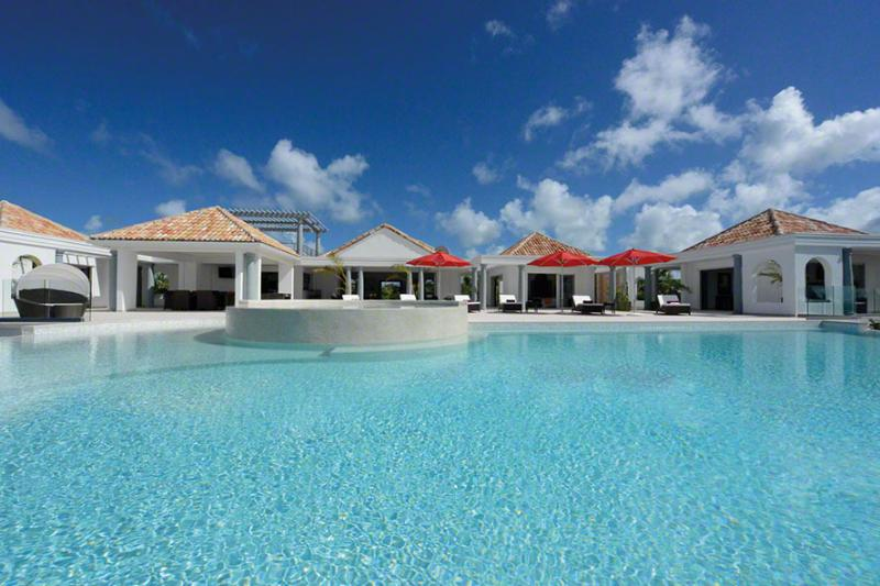 Just in Paradise, Terres Basses, St Martin 800-480-8555 - JUST IN PARADISE... fabulous new luxury villa in prestigious Terres Basses offering gorgeous views - Terres Basses - rentals