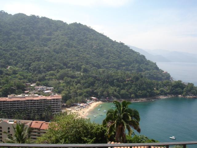 View from terrace - Condo Lorena - Puerto Vallarta - rentals