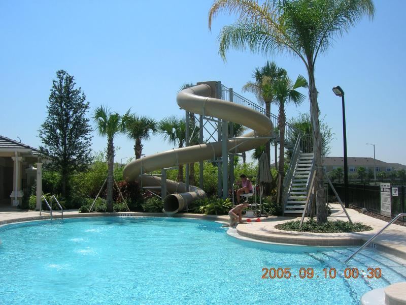 Resort Heated pool with Waterslide - Windsor Hills Resort Vacation Rentals by Disney - Kissimmee - rentals