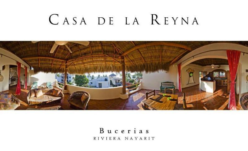 Casa de la Reyna Palapa Penthouse Bucerias Mexico - Image 1 - Bucerias - rentals