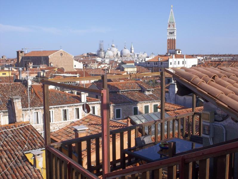 Amazing views from the exclusive top roof terrace over the whole city! Altana Albachiara - Altana Albachiara The best view of Venice - Venice - rentals