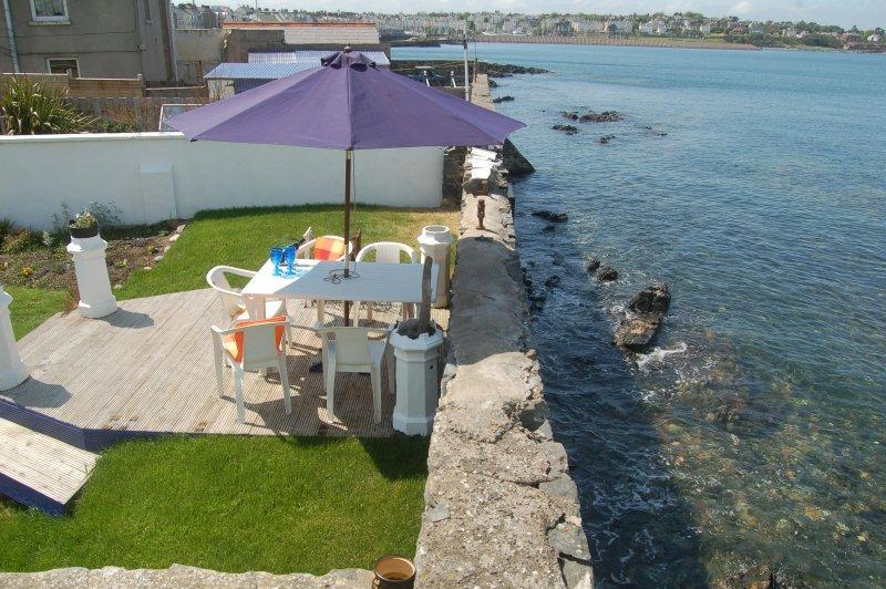 Sea lapping back garden and panoramic views - Sea lapping back garden with  panoramic sea views! - Bangor - rentals