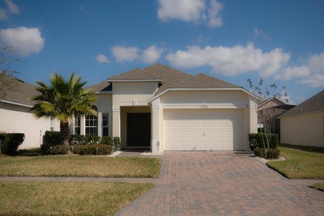 Front of our Home - 4 Bed Home, Pool & Spa, 10 min to Disney (4792-CUM - Kissimmee - rentals