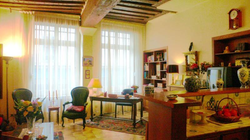 The charm of  the 'Vieux Paris' for this comfortable apartment. - 400 One bedroom Great Location  Paris Latin quarter district - Paris - rentals