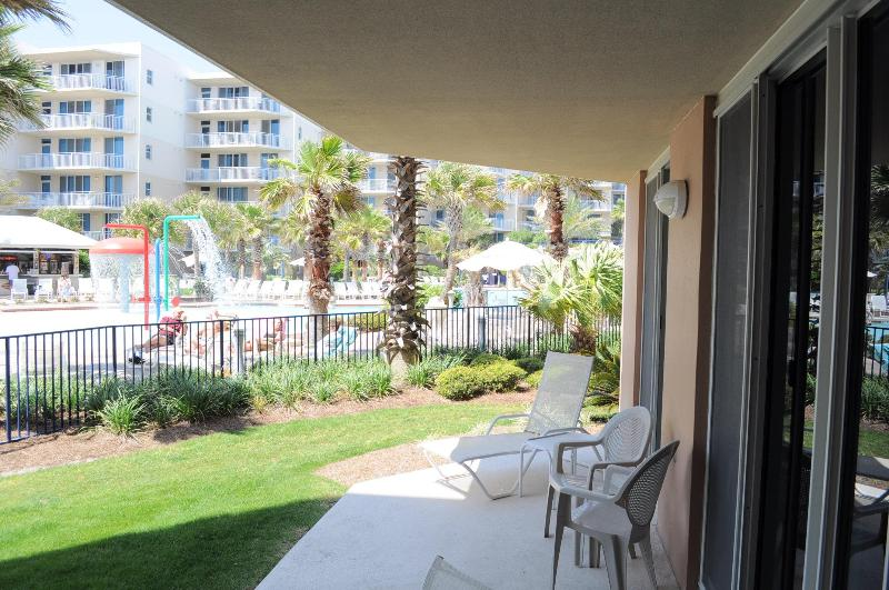 Waterscape Resort Vacation Rentals.  Ground Floor, 2 bedroom, Near Pool, Near Beach - wsa108, Waterscape Resort, Ground Level near Pool - Fort Walton Beach - rentals