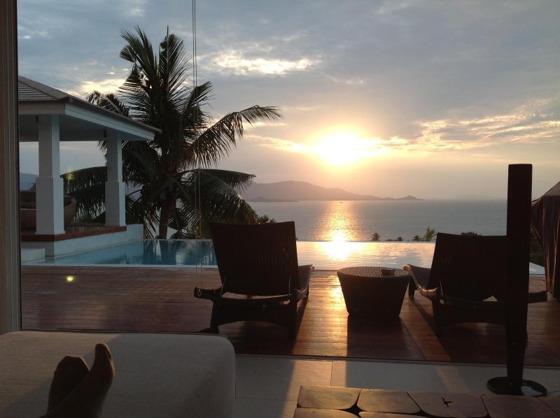 Sunset deck - North Shore Villa Samui - Koh Samui - rentals