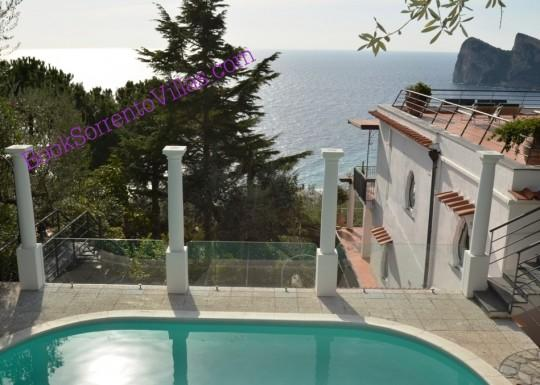 APPARTAMENTO LA GRANSEOLA B (NEW) - SORRENTO PENINSULA - Marina del Cantone - Image 1 - Marina del Cantone - rentals