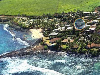 Hale Makai 6 BDR Beach Home- Aerial - North Shore Maui Beach Rental Home - Paia - rentals