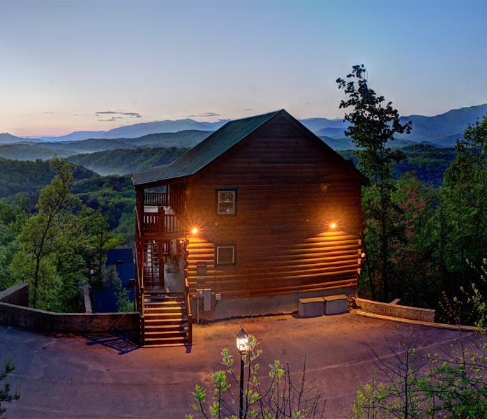 Magical Moose at Sunset - Magical Moose~Mtn Top 7/7.5 Awesome Mtn Views - Pigeon Forge - rentals