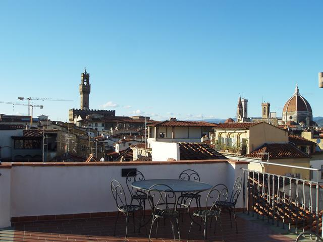 Terrace - 360° Terrace apartment in Florence downtown - Florence - rentals