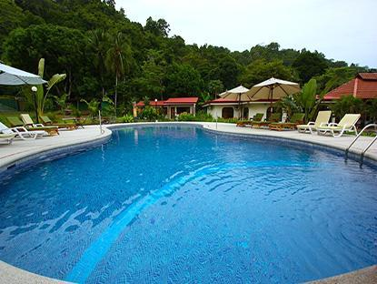 Huge resort size private Swimming Pool - 12 Bedroom Jaco Beach Front vacation rental- Wow! - Jaco - rentals