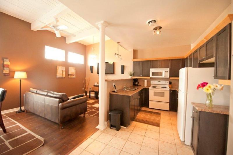 Open Concept Living Room and Kitchen - Junior Superior - Summer Rates now Discounted! - Niagara Falls - rentals