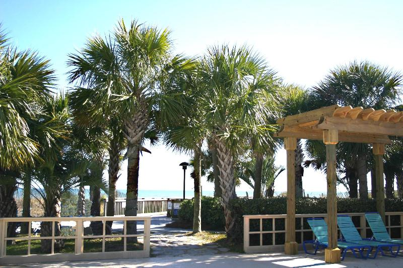 Scenic Path To Beach - LakeFront 3 Bedroom Villa at Top Rated Kingston Plantation - Myrtle Beach - rentals