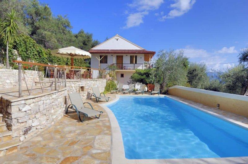 Villa Chrissa Loggos - Paxos - 3 bedroom stylish villa with pool in Paxos Greece. - Paxos - rentals