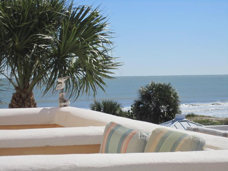 Our view of the ocean is gorgeous! - Fabulous Beach Front Condo on Cocoa Beach - Cape Canaveral - rentals