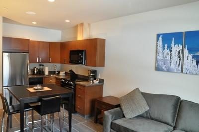 Living Room - Kookaburra Village Center - 202 - Sun Peaks - rentals