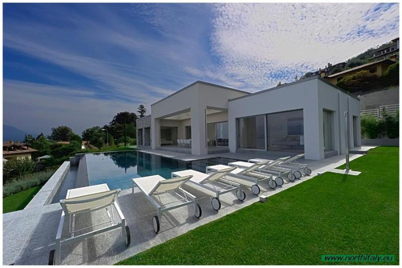 Luxury holiday villa Stresa Lake Maggiore Italy - Modern designer villa with pool and great lakeview - Stresa - rentals