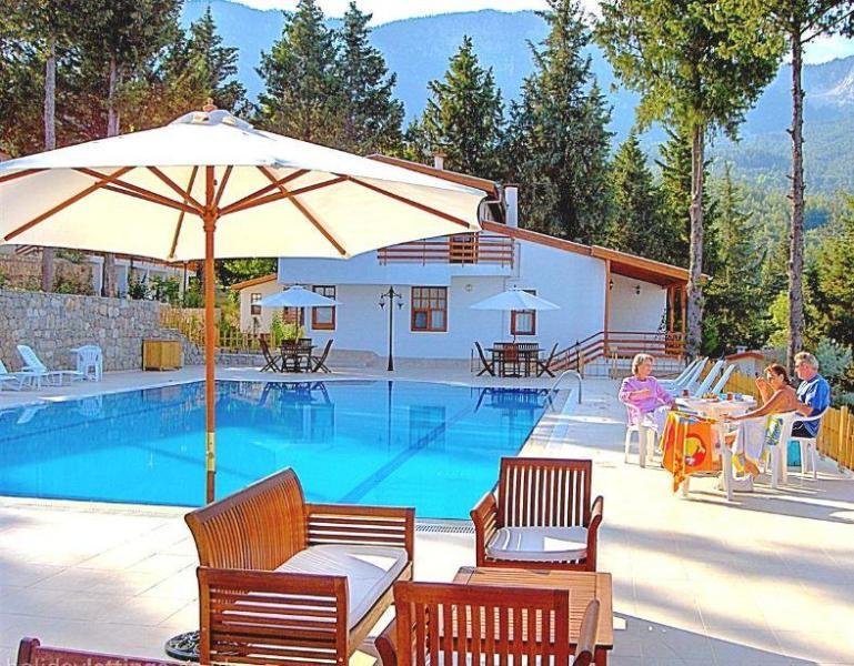 Pool view - Turkey Villa - Sea, Pine Forest & Mountain Views - Kemer - rentals