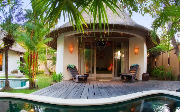 Villa View - Villa Tirta Naga - 2 Bedroom Private Villas - Seminyak - rentals