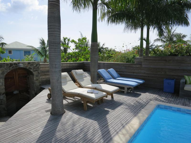 Private pool and terracce - NATICA - Orient Bay anyway you like it! - Orient Bay - rentals