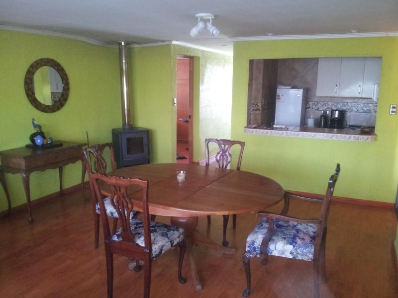Living Room - 3 bedroom home base, Santa Cruz, Chile, FREE Wifi - Santa Cruz - rentals